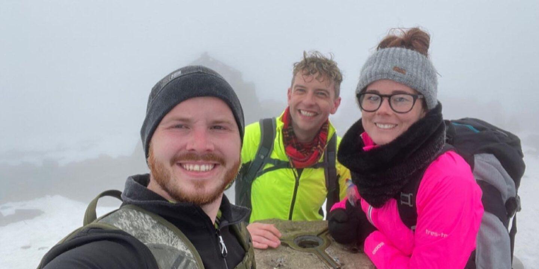 Goldielea's Steph Completes Three Peaks Challenge For Minibus Fundraiser