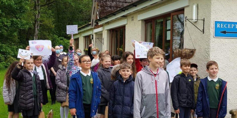 Tears Of Gratitude As Primary School Class Honours Barrock Court Carers