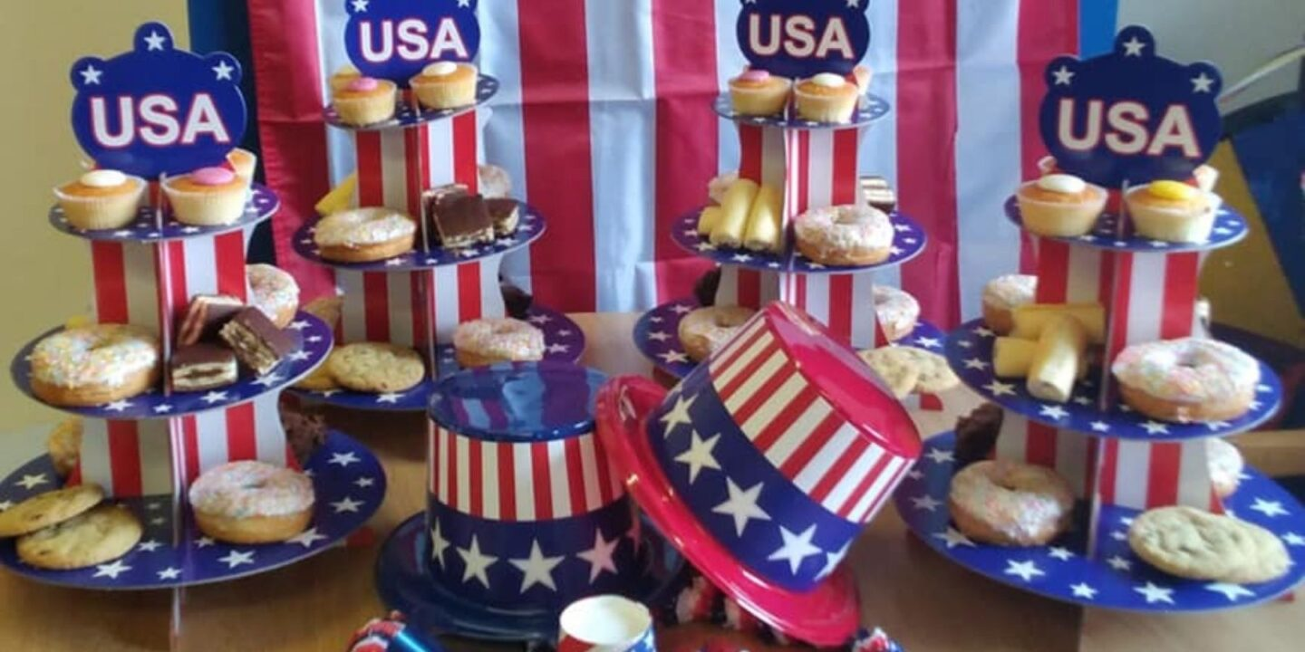 Independence Day Party Brings American-themed Fun To Hill View