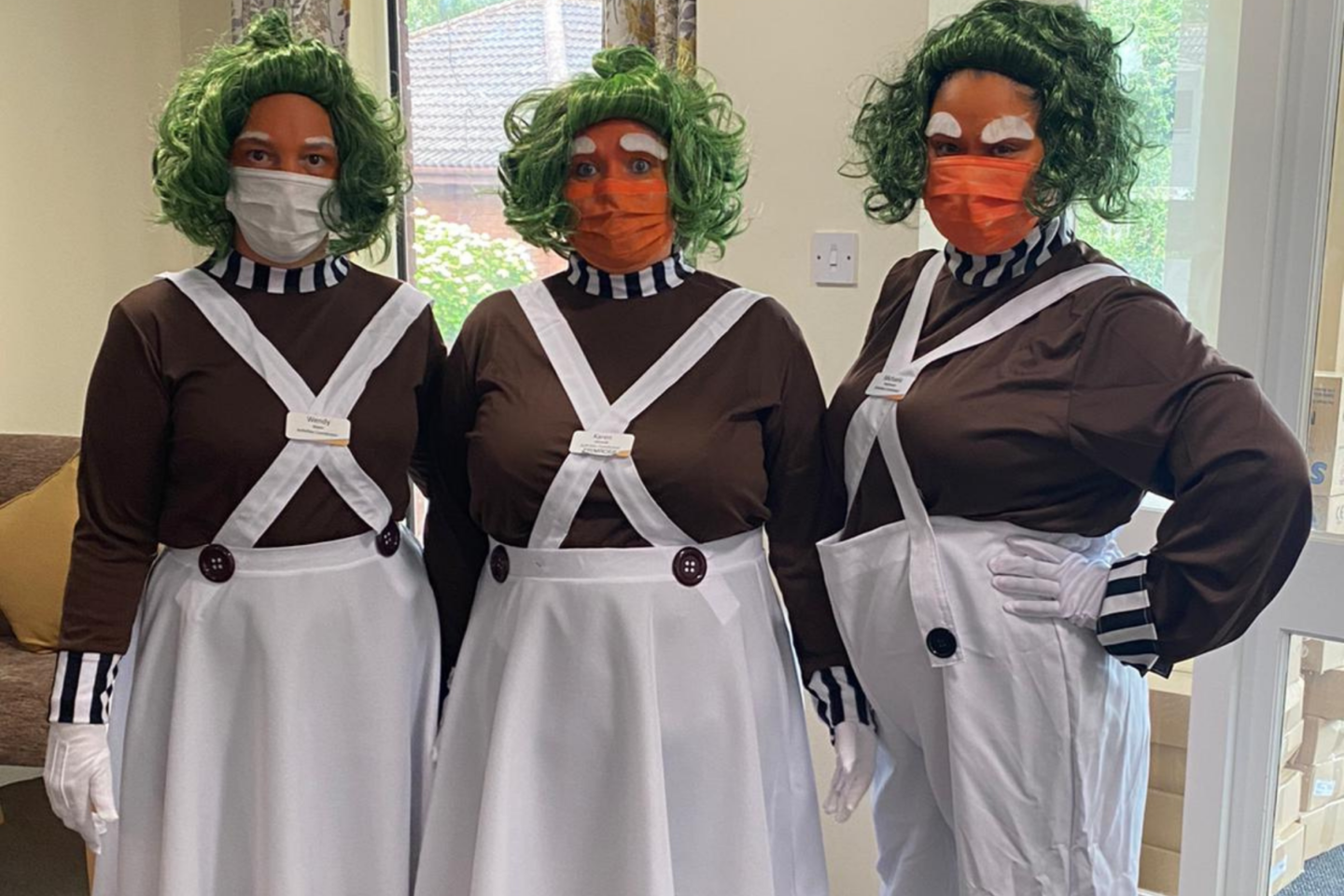 Netherton Green Gets Magical Oompa Loompa Visit On World Chocolate Day