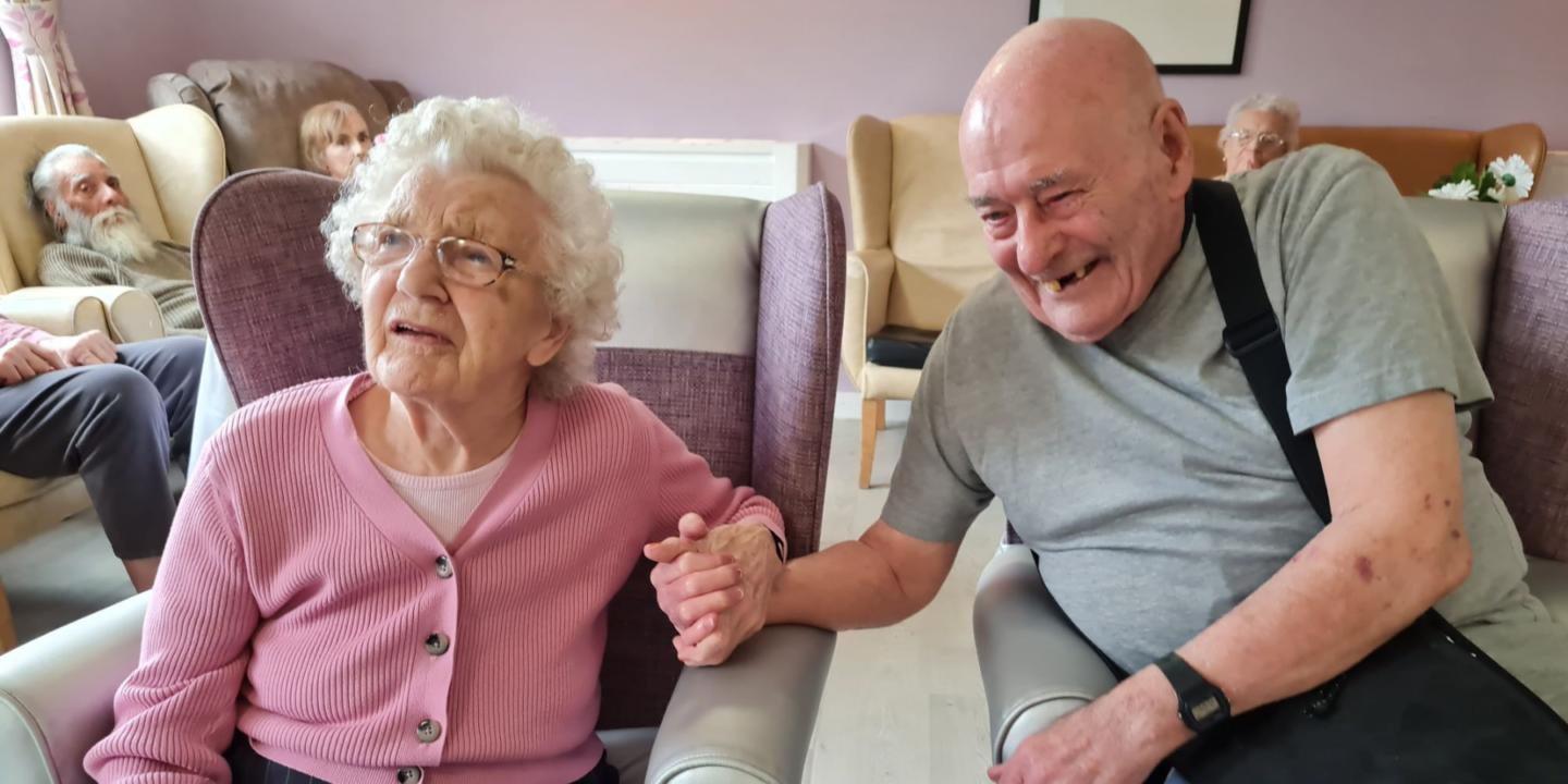 Cloisters Residents Mark Marital Milestones With Home Celebrations