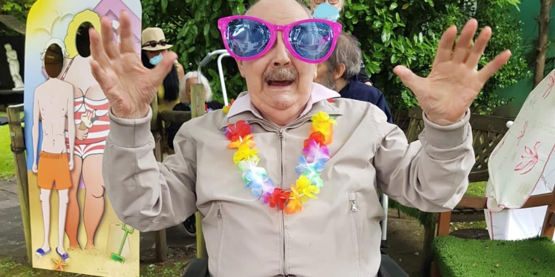 Roseacres Residents Celebrate Summer At Seaside-themed Garden Party