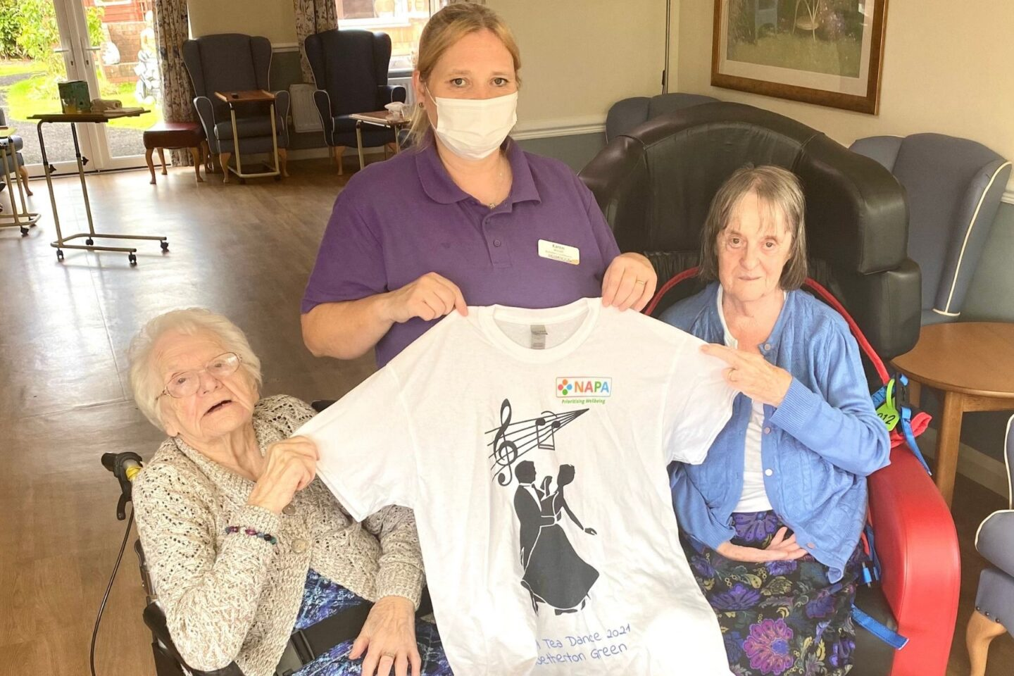 Netherton Green Residents Win NAPA T-shirt Design Competition!